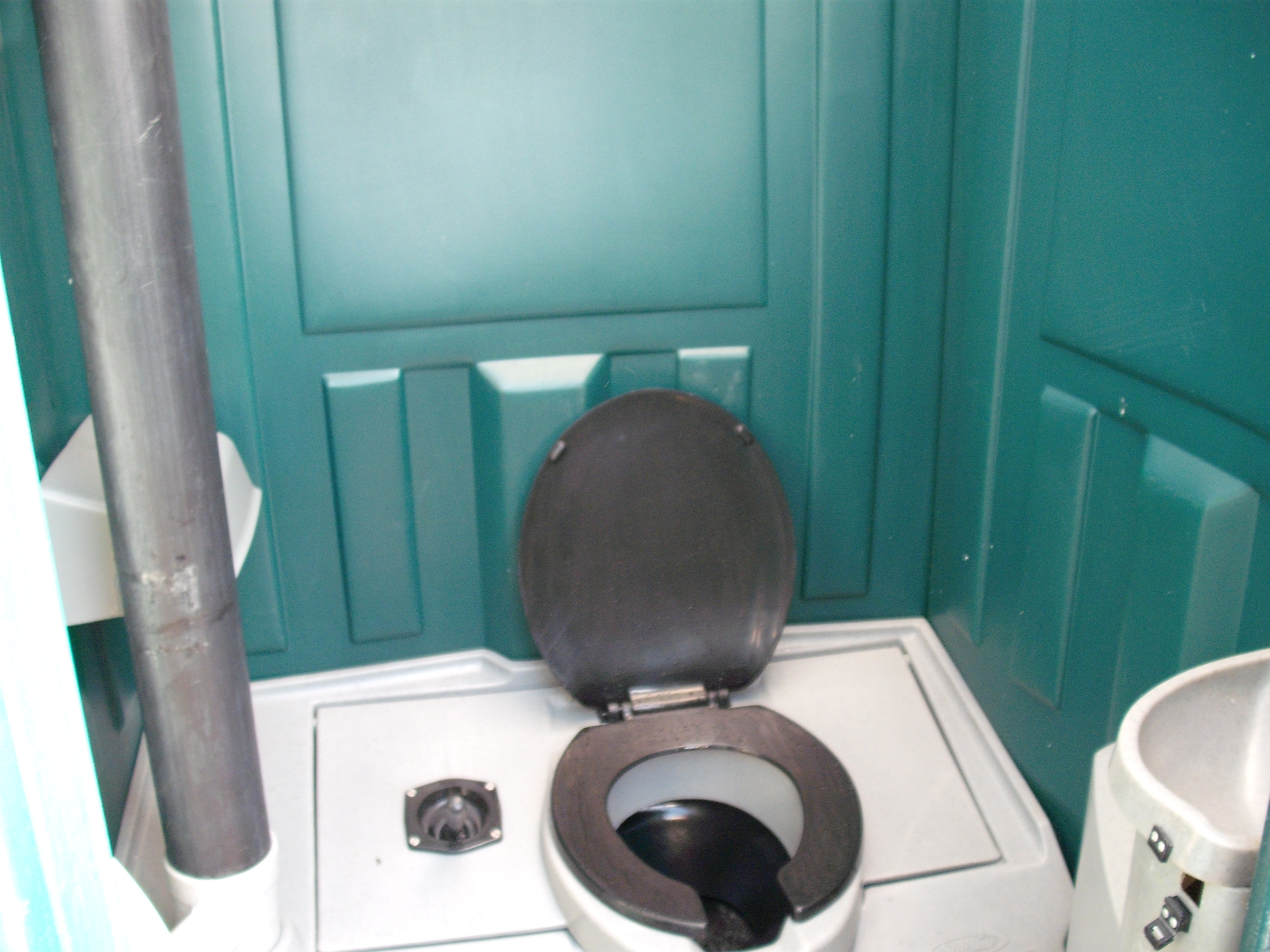 Inside site service toilet